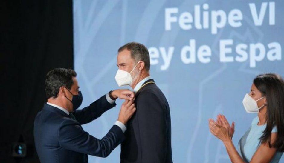La Asamblea Andaluza por la Memoria Histórica ante la entrega de la Medalla de Honor de Andalucía a Felipe VI