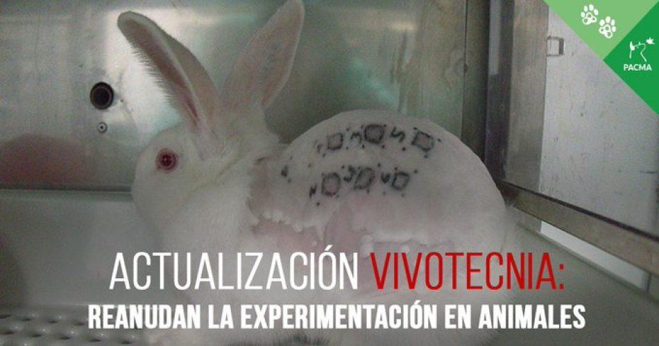 La Comunidad de Madrid levanta la suspensión de la actividad en el laboratorio y permite que se siga experimentando