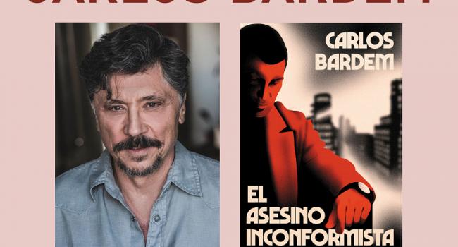 Carlos Bardem presenta su novela «El asesino inconformista» en Chiclana, Medina Sidonia y Conil
