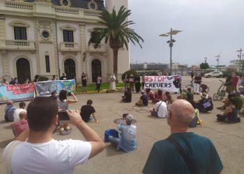 Movilizaciones ciudadanas contra la vuelta del turismo de megacruceros y las ampliaciones de sus puertos