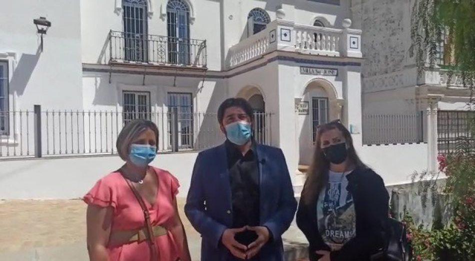 Ismael Sánchez demanda a la Consejería de Educación de Andalucía actuaciones urgentes en la Escuela Oficial de Idiomas de Alcalá de Guadaíra
