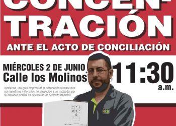 IUCyL exige la readmisión del trabajador despedido Bidafarma por motivos sindicales