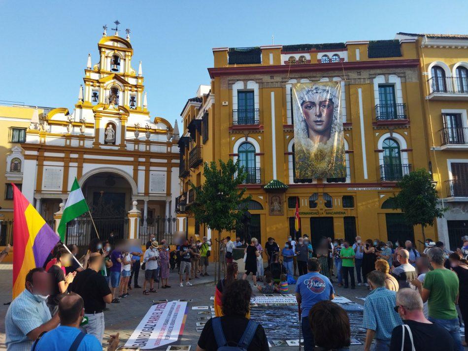 Registran una iniciativa parlamentaria para que el gobierno andaluz, en cumplimiento de la Ley de Memoria Democrática, saque los restos de Queipo de Llano de la Macarena