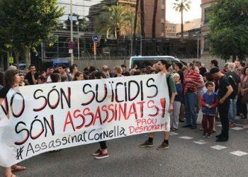 Un hombre se suicida antes de su desahucio en el barrio barcelonés de Sants