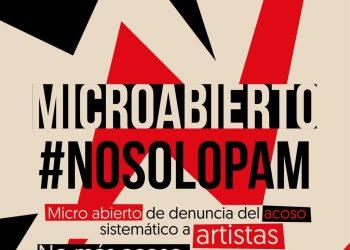 Artistas se plantan contra las amenazas en Redes Sociales en el Teatro del Barrio