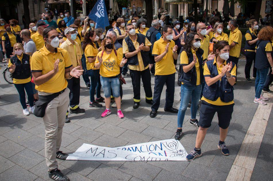 Canvi de fase en el conflicte de Correus a Sabadell en el 65è dia de vaga