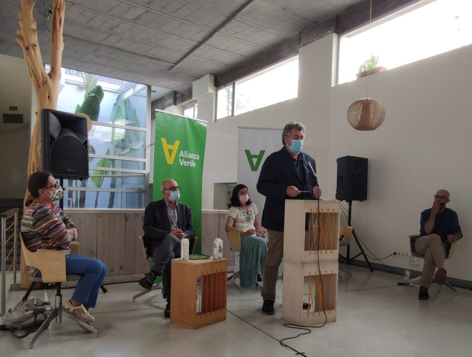 Nace «Alianza Verde», un nuevo partido en el seno de la coalición Unidas Podemos impulsado por López de Uralde