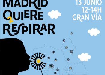 «Madrid quiere respirar»: este domingo, Gran Vía se convierte en un espacio de participación ciudadana en defensa de Madrid Central