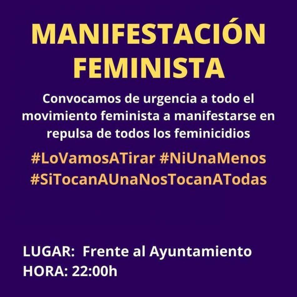 Convocadas movilizaciones feministas en todo el país tras los últimos feminicidios: 11-J, a las 22 horas