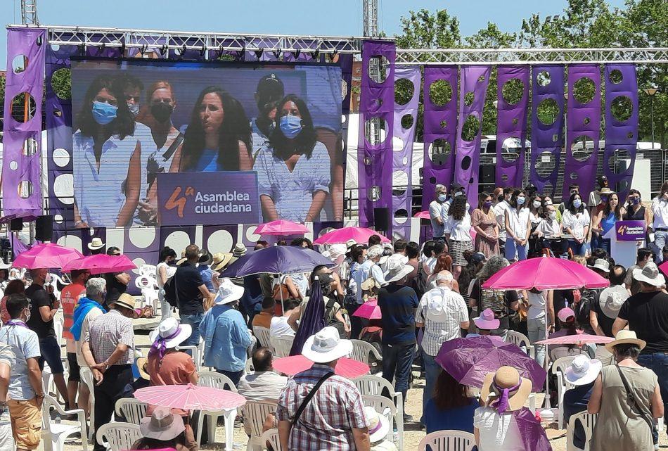 Ione Belarra elegida nueva secretaria general de Podemos en su IV Asamblea