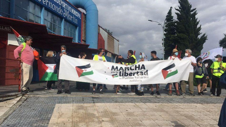 CGT PVyM muestra su apoyo a las reivindicaciones de la Marcha por la libertad del pueblo saharaui