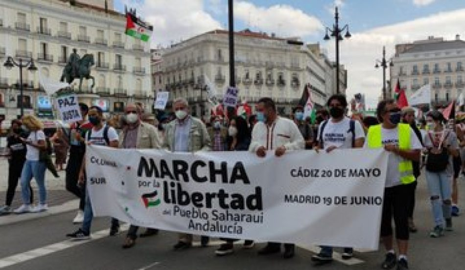 """Izquierda Unida exige el """"cumplimiento ya"""" del derecho internacional y de los sucesivos acuerdos para que el pueblo saharaui consiga la autodeterminación"""