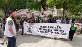 La Intersindical Región Murciana considera que la huelga lanza un mensaje claro: la consolidación es el único camino