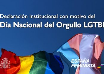 Declaración institucional con motivo del 28 de junio, Día Nacional del Orgullo LGTBI