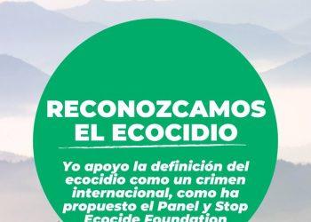 La Alianza Internacional de Parlamentarios por el Reconocimiento del Ecocidio se compromete a apoyar y defender la definición internacional de Ecocidio en su respectivos países y a nivel global