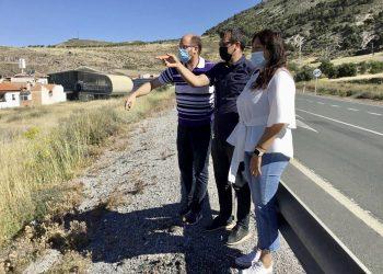 Unidas Podemos apoya las reivindicaciones de infraestructuras en el municipio granadino de Padul