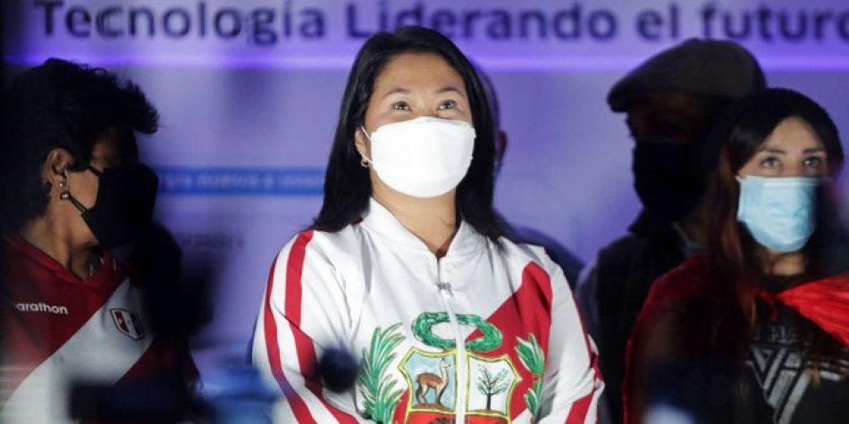 """Izquierda Unida denuncia el """"escaso respeto a la democracia por parte de la extrema derecha caciquil peruana"""" de Keiko Fujimori al cuestionar la """"clara victoria"""" de Pedro Castillo"""