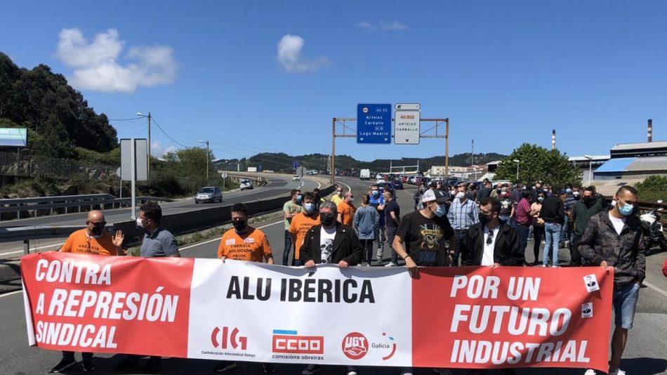 Os sindicatos esixen que se cumpra a sentenza da Audiencia Nacional sobre Alcoa