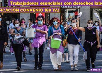 Se cumplen 10 años desde que la OIT aprobara el «Convenio 189 sobre el trabajo decente paras las trabajadoras y trabajadores domésticos»