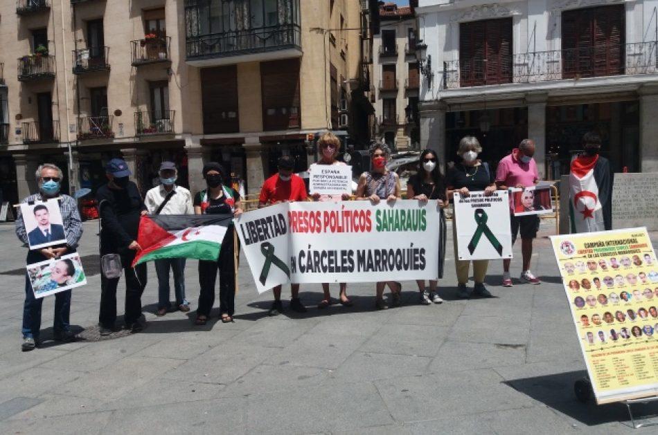 Libertad para los presos políticos saharauis encarcelados en Marruecos: todos los lunes damos testimonio