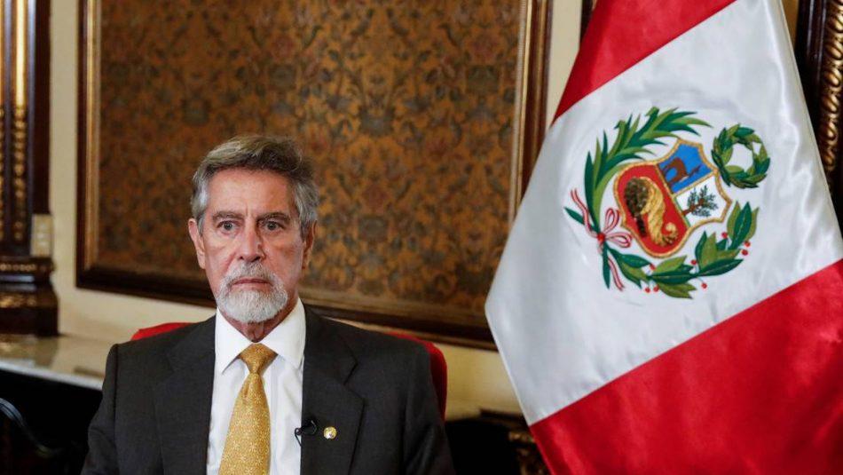 El presidente en funciones de Perú pide investigar los indicios de golpe militar contra Pedro Castillo