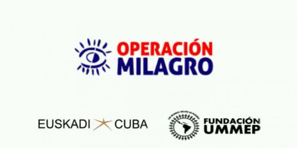 """""""La cooperación Sur-Sur como modelo de empoderamiento y emancipación. Visibilizando Operación Milagro en Argentina"""": primeros 10 videos de Euskadi-Cuba"""