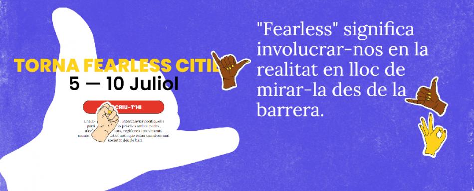 Moviments municipalistes de tot el món es troben a una nova edició del Fearless Cities