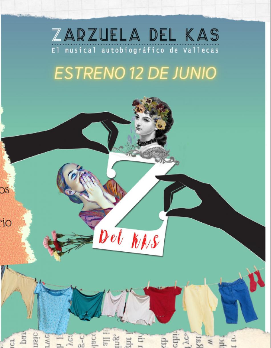 «Zarzuela del Kas, un espectáculo para conocer la historia de Vallecas de la mano de 120 vecinas y vecinos del barrio»