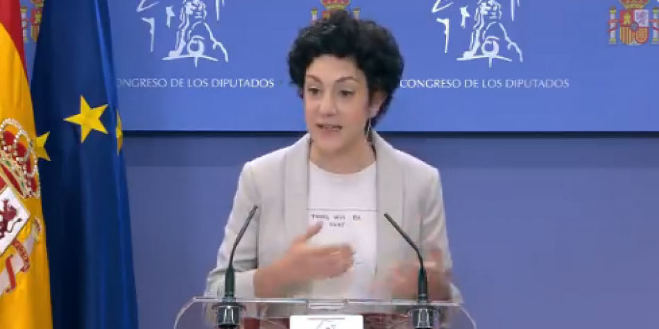 """Aina Vidal: """"Casado pretén tapar la seva corrupció amb els indults"""""""