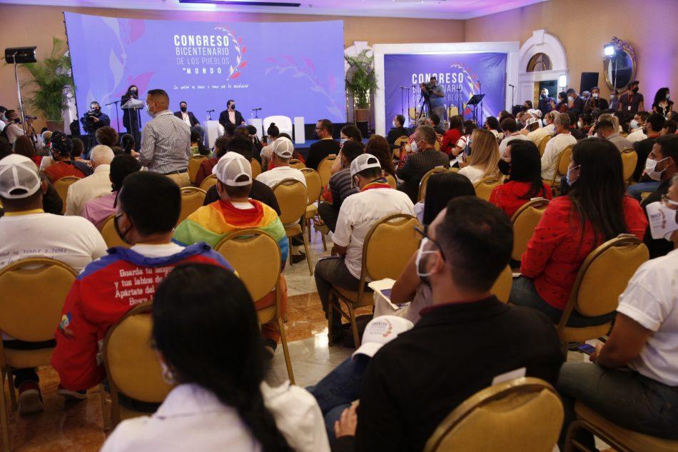 Congreso Bicentenario de los Pueblos del Mundo. Sentires Venezolanos