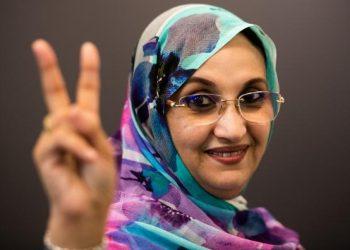 El Distrito San Pablo-Santa Justa aprueba una plaza para la activista saharaui Aminetu Haidar