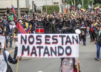 El Comité del Paro denuncia la negativa del gobierno colombiano a negociar un pliego de emergencia