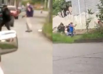 Civiles armados disparan a manifestantes en Siloé, Colombia