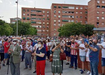 Los colectivos vecinales de Madrid convocan esta semana once nuevos actos de protesta contra el cierre estival de centros de salud