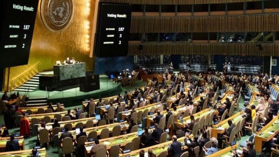 Cuba volverá a exigir en la ONU el cese del bloqueo de EE.UU.