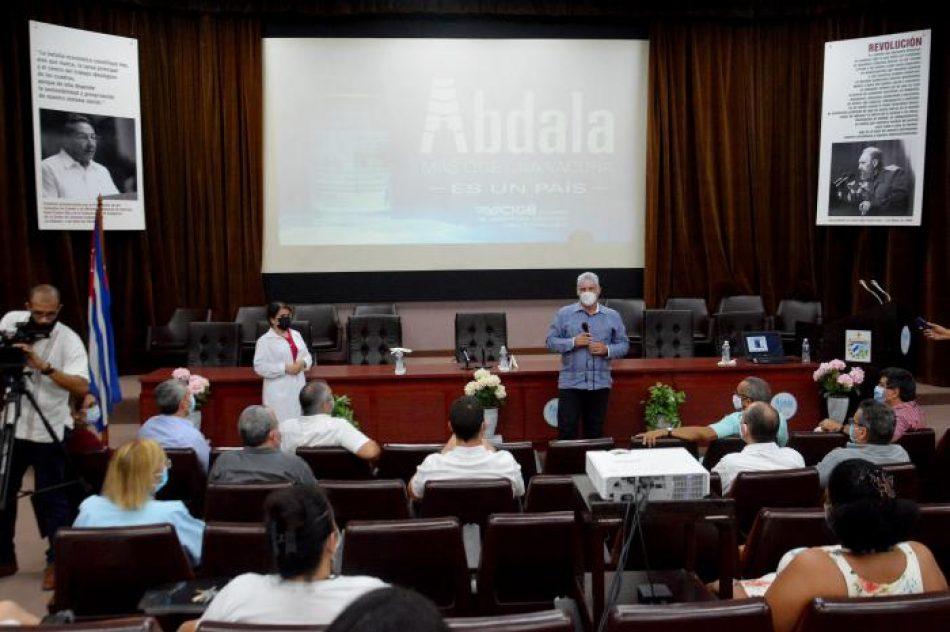 La vacuna cubana Abdala, con tres dosis, tiene una eficacia de 92,28 %
