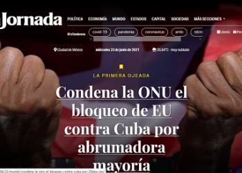 Líderes mundiales y medios de prensa destacan victoria de Cuba en ONU