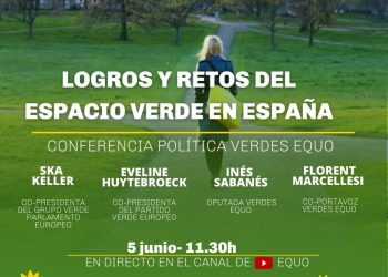 Verdes Equo cumple 10 años y celebra una conferencia política para crear un gran espacio verde en España