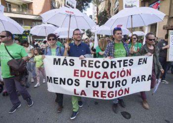 STERM demanda acabar con la pandemia de los recortes en Educación