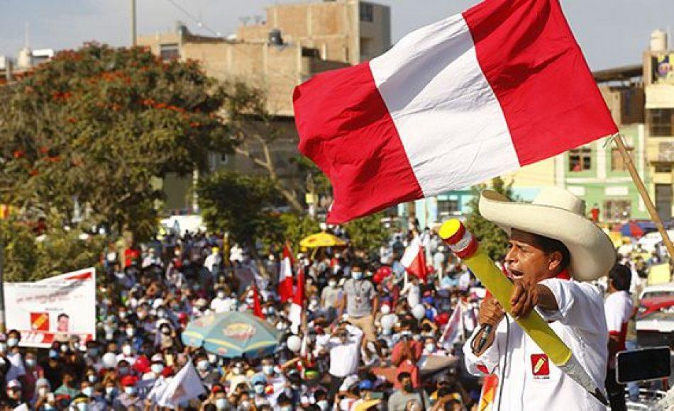Organizaciones argentinas saludan el triunfo de Pedro Castillo