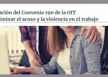 USO exige a España la ratificación del Convenio 190 de la OIT para eliminar el acoso y la violencia en el trabajo