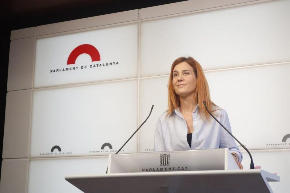 Albiach: «El futur de Catalunya dependrà del resultat de la taula de diàleg»
