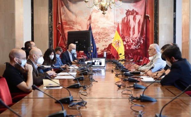 Unidas Podemos se reúne con CONPYMES para recoger sus propuestas sobre pymes y autónomos