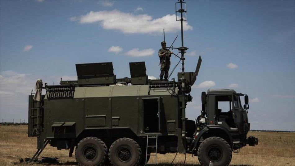 Sistema de guerra electrónica ruso ataca un satélite de la OTAN