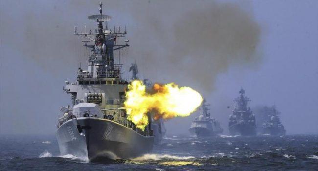 Informe: China reúne enorme flota para posible invasión de Taiwán-copia