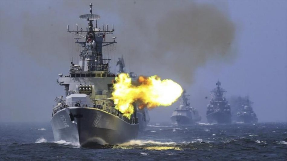 Informe: China reúne enorme flota para posible invasión de Taiwán