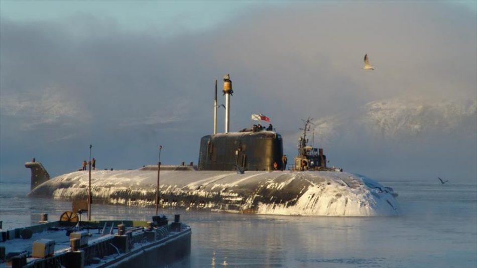 Submarino nuclear ruso desafía a OTAN y entra en el mar Báltico