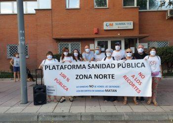 La Plataforma en Defensa de la Sanidad Pública de la Zona Noroeste de Madrid, alarmada por los datos de la Covid-19