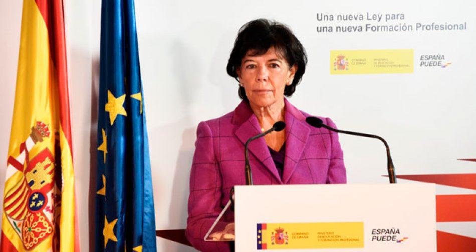 Informe alternativo al de la Comisión Permanente sobre el anteproyecto de Ley de FP