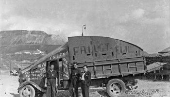Recuerdan a las víctimas de la Columna Minera de Riotinto en su 85 aniversario